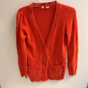 Anthropologie Moth cashmere blend cardigan sweater